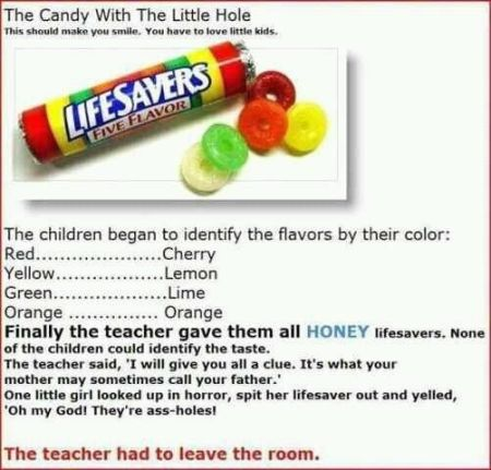 lifesaver candy funny story