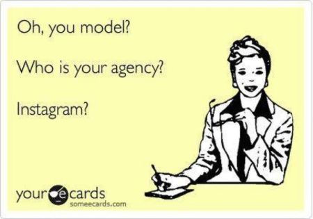 oh you model – who is your agency- instagram ecard