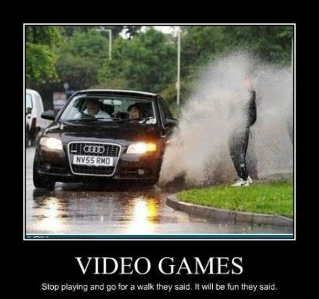video games funny demotivational