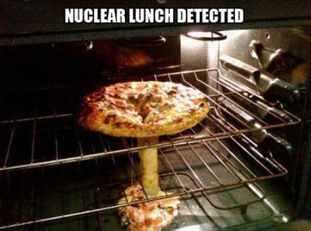 Nuclear lunch detected funny