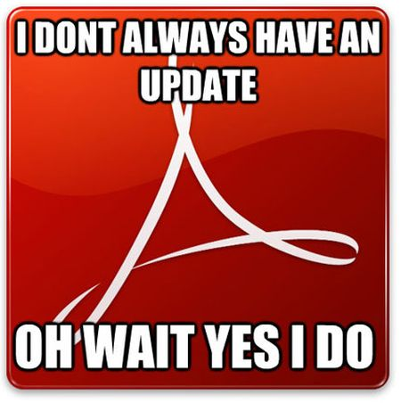 I don't always have an update funny