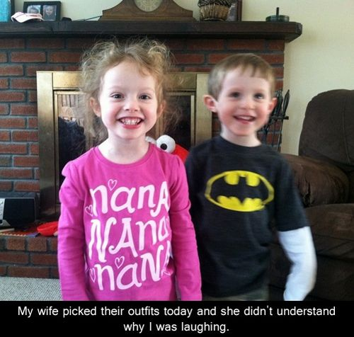 kids nana nana nana and batman t-shirts