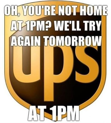 UPS delivery funny