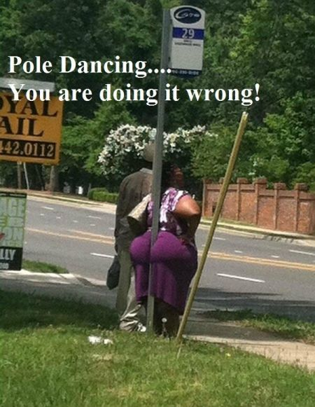 Pole dancing you are doing it wrong
