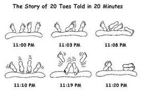 the story of 20 toes told in 20 minutes