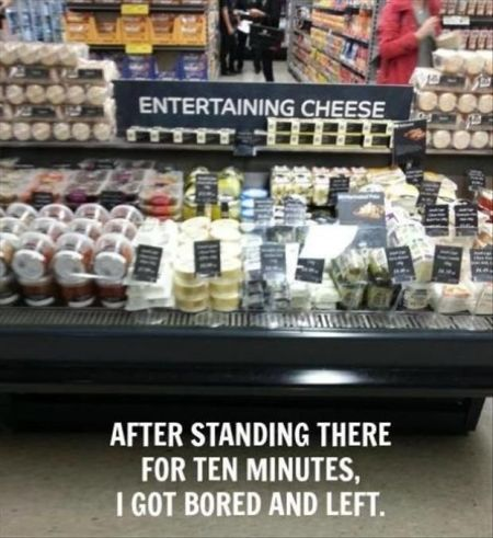 entertaining cheese funny picture