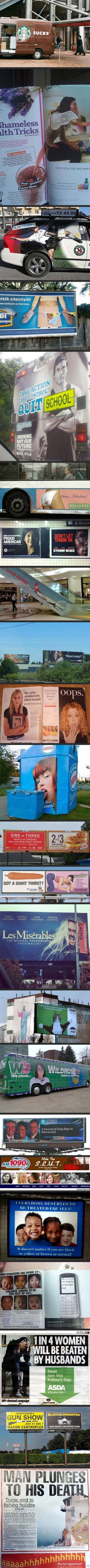 Hilarious advertising fails
