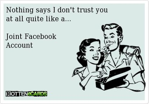 joint facebook account ecard