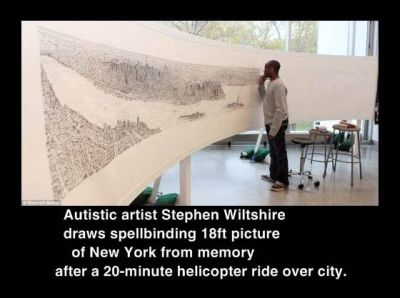 Stephen Wiltshire amazing artwork