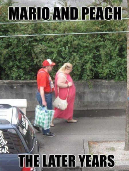 Mario and peach the later years funny