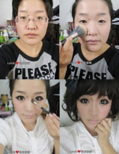 Asian make-up surprising
