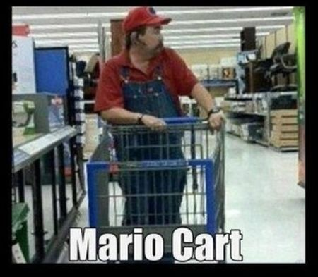 Mario cart demotivational funny