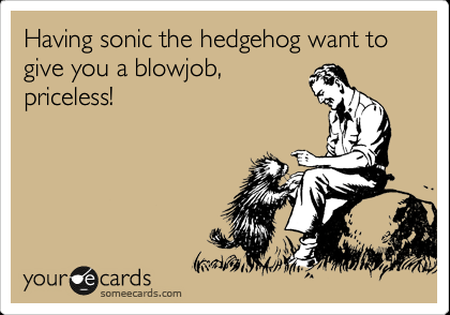 sonic the hedgehog ecard funny
