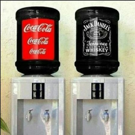 coca cola and jack daniels funny picture