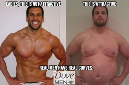 real men have real curves funny dove advert