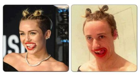 Nailed that miley cyrus