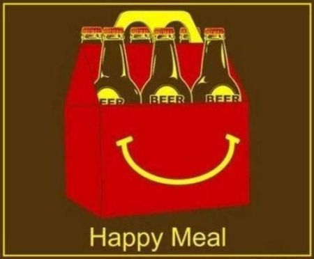Happy meal funny