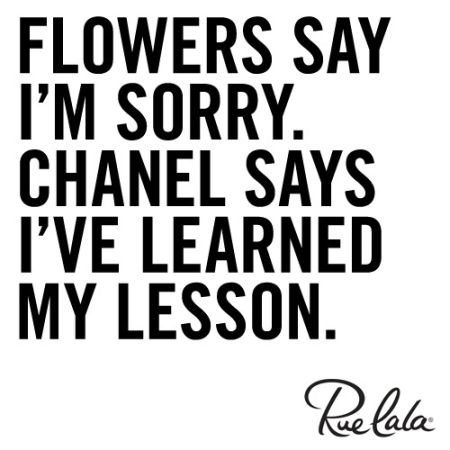 flowers say I'm sorry quote