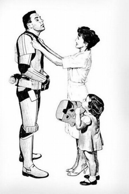 stormtrooper retro family