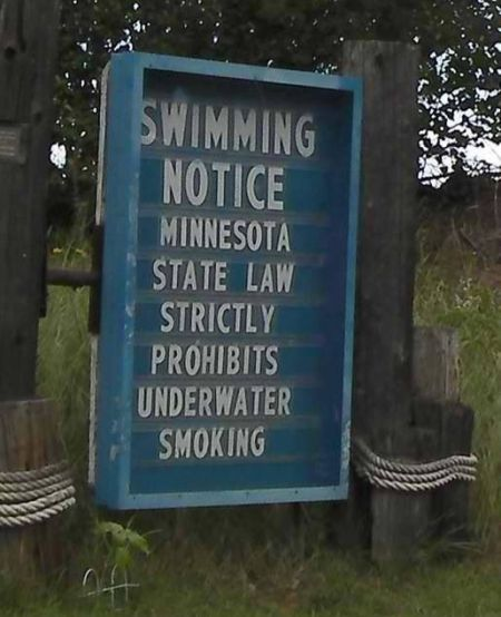 underwater smoking fail