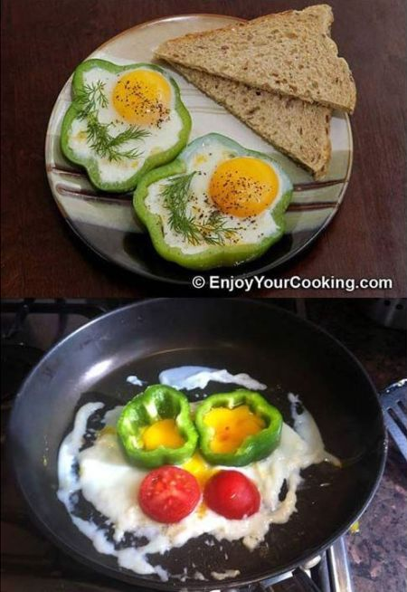 Nailed it – capsicum eggs