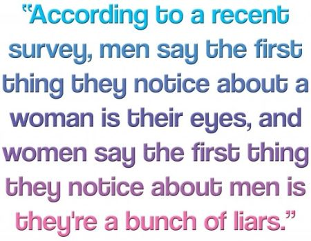 men are a bunch of liars funny
