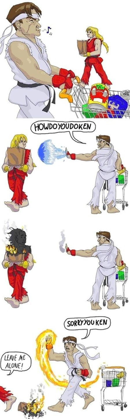 street fighter shopping funny