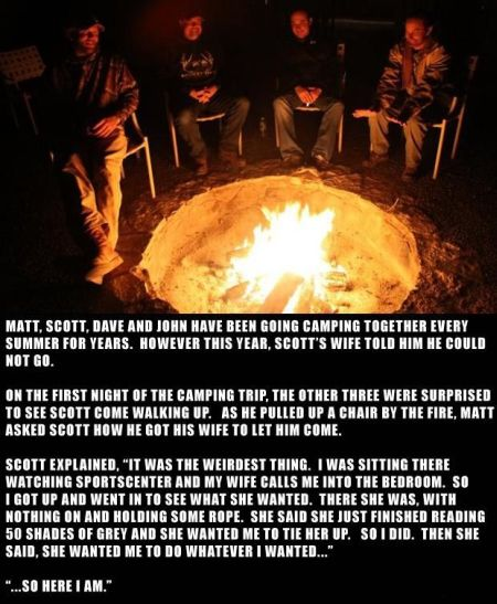 the camping trip funny story