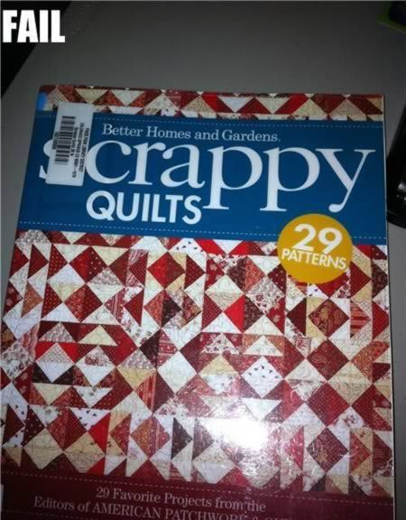 crappy quilts fail
