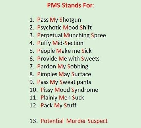 PMS stands for