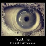 it is just a kitchen sink
