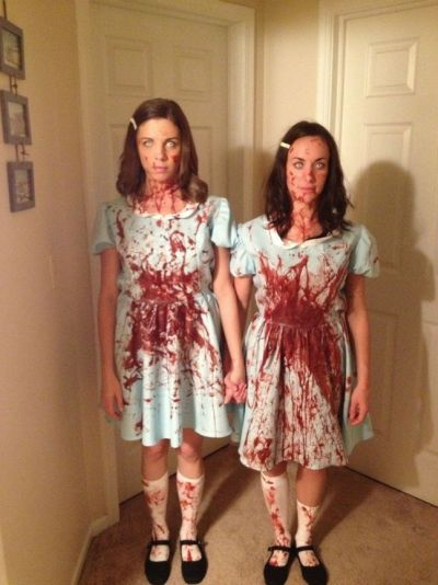 Funny Halloween costume grady sisters