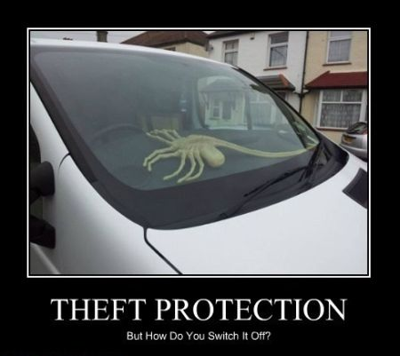 theft protection demotivational