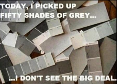 50 shades of grey I don't see the big deal