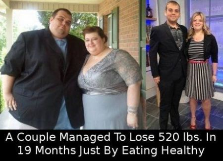 couple does 19 months diet