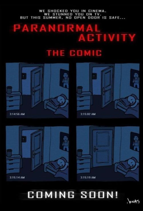 paranormal activity the comic