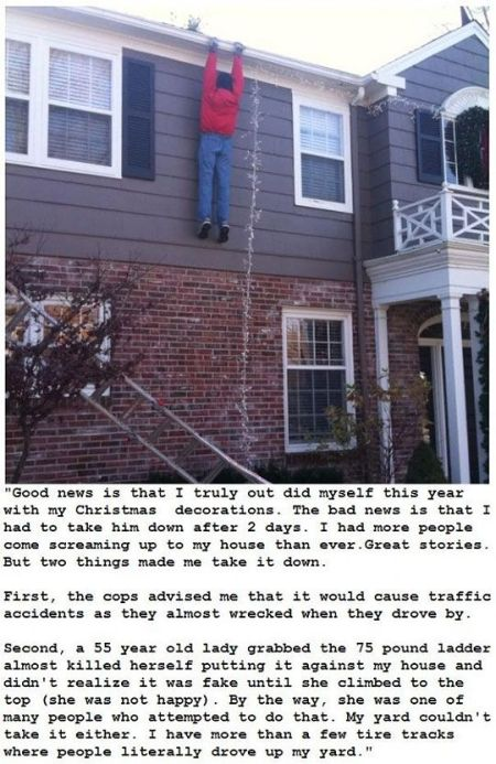 Christmas decoration fail