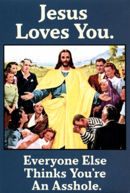 Jesus loves you funny