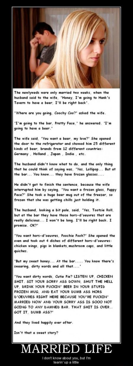 married life funny story