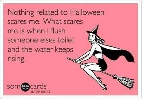 nothing related to Halloween scares me ecard