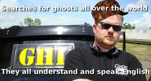funny ghost hunters T show