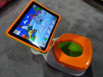high tech potty