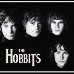 the hobbits rock poster