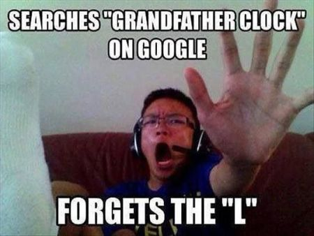 grandfather clock fail