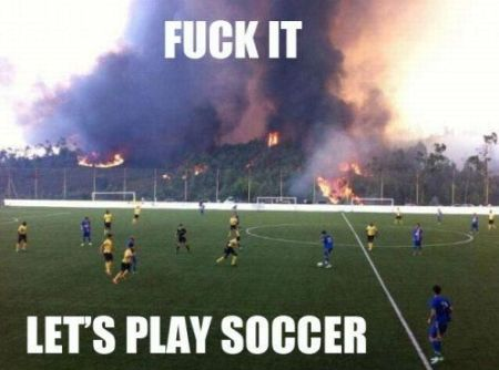 let's play soccer funny