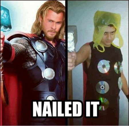Nailed that - Thor
