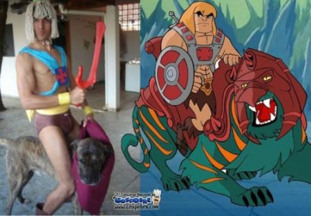 Nailed it – He Man