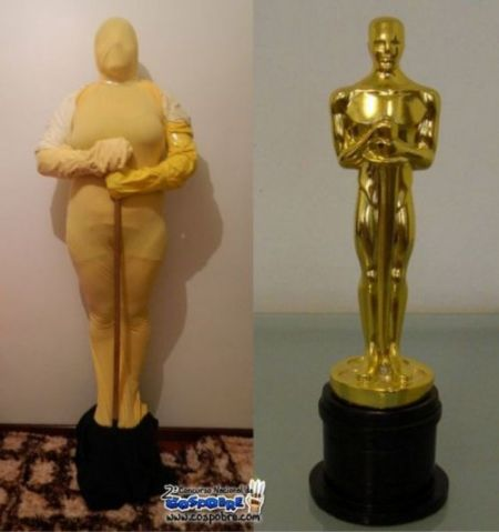 Nailed that – Award Statue
