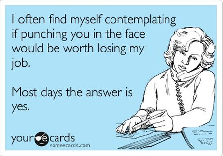 punching you in the face ecard