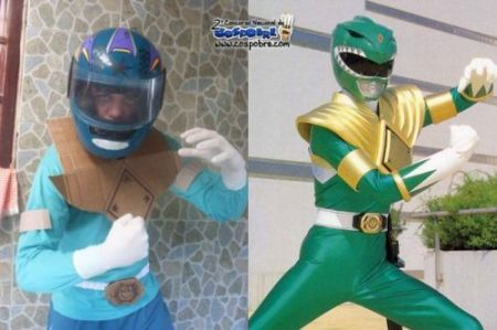 Nailed it – power ranger
